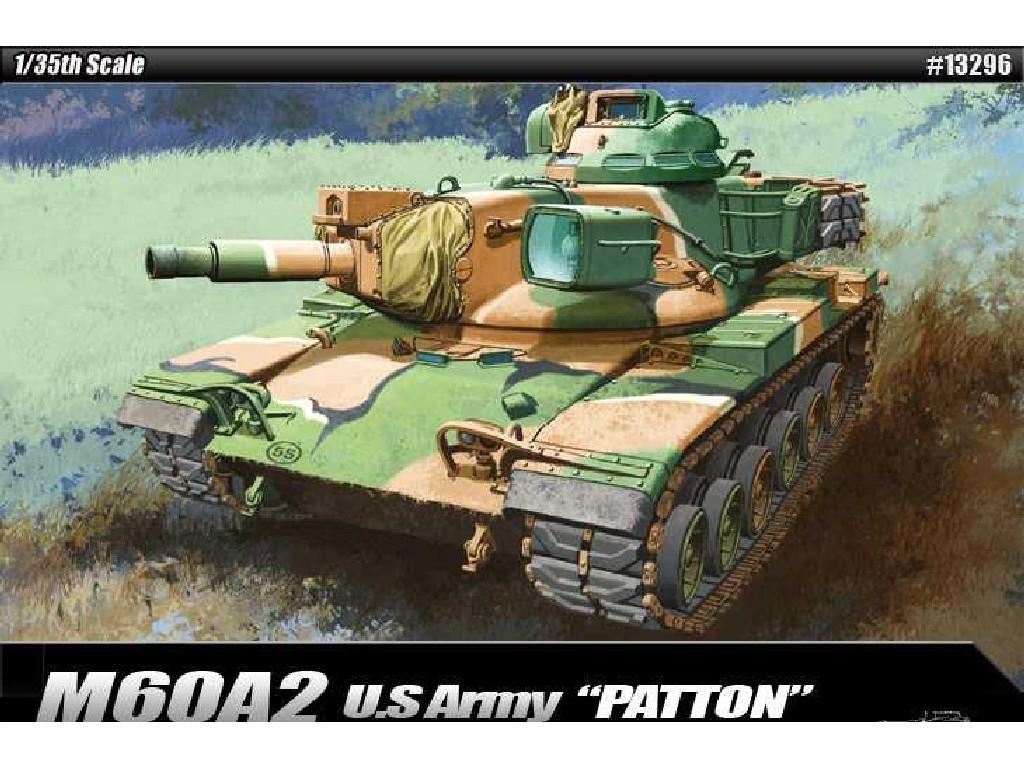 1/35 Plastikový model - tank 13296 - US ARMY M60A2
