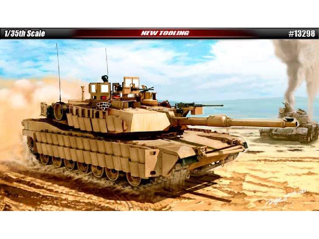 1/35 Plastikový model - tank 13298 - U.S. Army M1A2 TUSK II