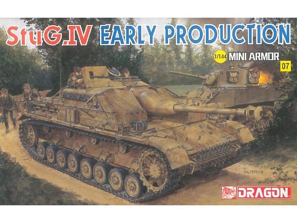 1/144 Plastikový model - tank 14111 - StuG.IV Early