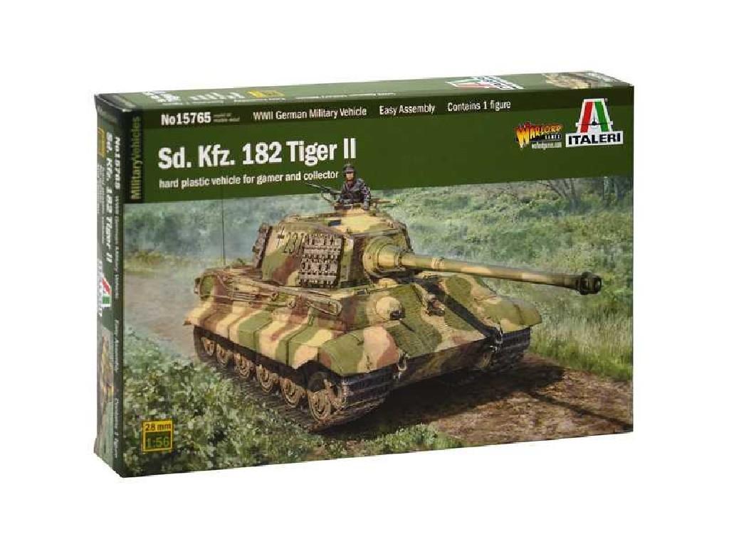 1/56 Plastikový model - tank 15765 -Sd. Kfr. 182 Tiger ll