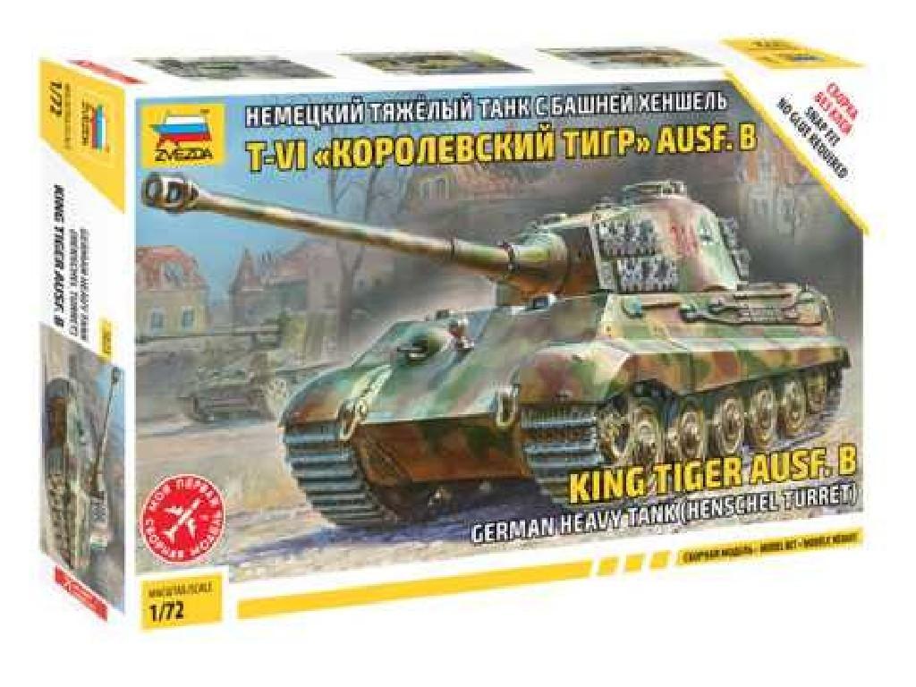 1/72 Model Kit tank 5023 - Sd.Kfz. 182 King Tiger Henschel