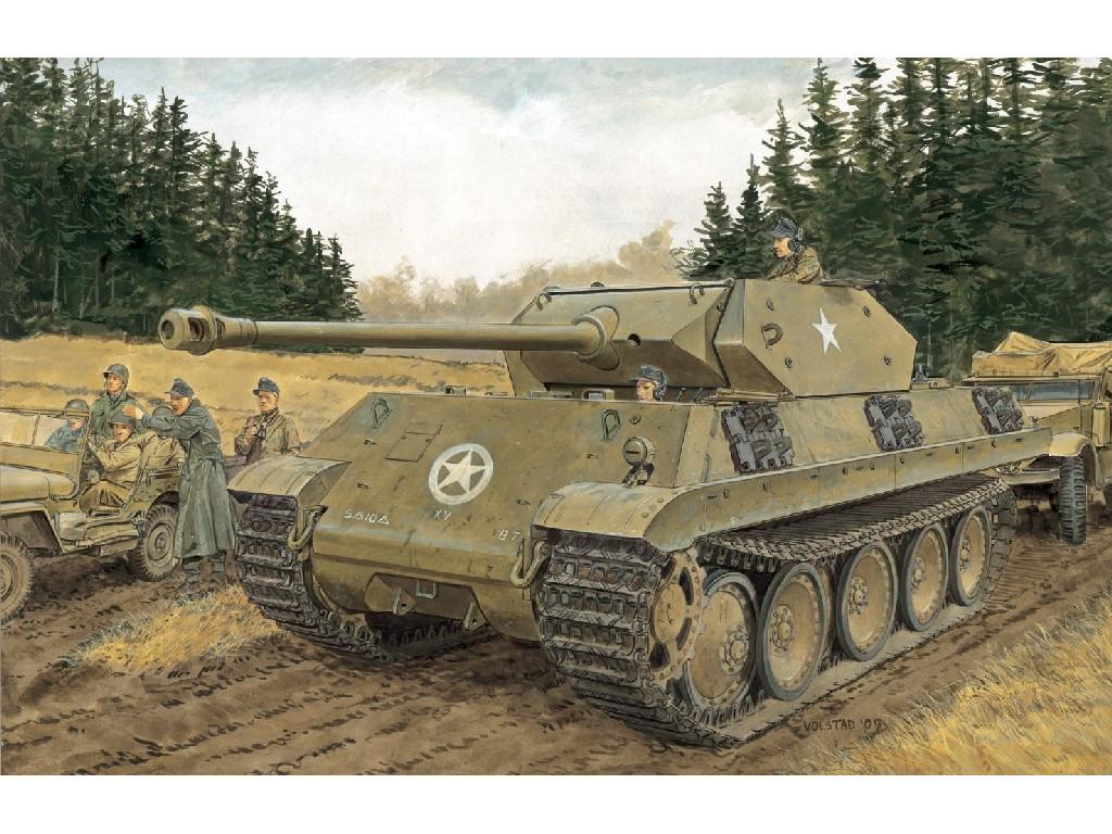 1/35 Plastikový model - tank 6561 - ERSATZ M10 (SMART KIT)