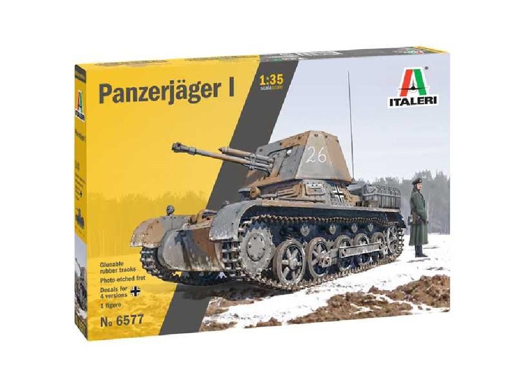 Italeri - 6577 - Panzerjager I 1:35