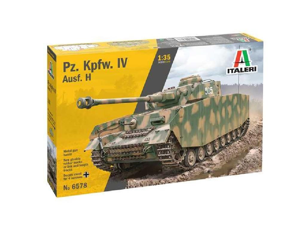 Model Kit tank 6578 - Pz. Kpfw. IV Ausf. H (1:35)
