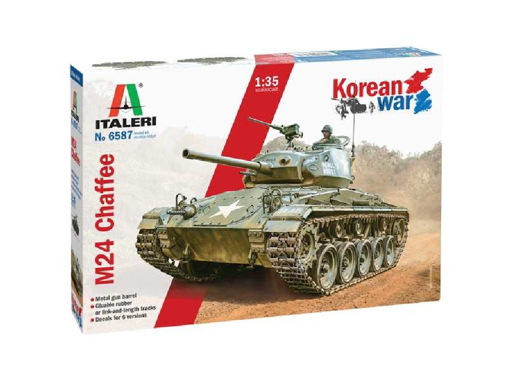 Model Kit tank 6587 - M24 Chaffee Korean War (1:35)