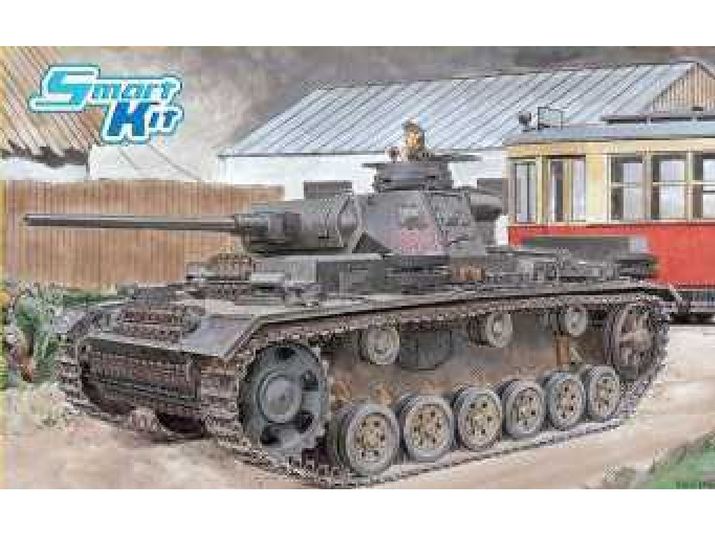 1/35 Plastikový model - tank 6954 - Pz.Kpfw.III Ausf.J Initial Production / Early Production (2 in 1)