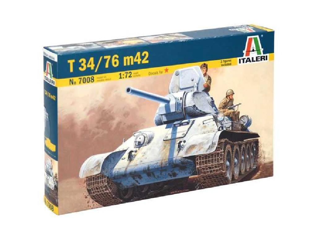 Tank T-34/76 m42