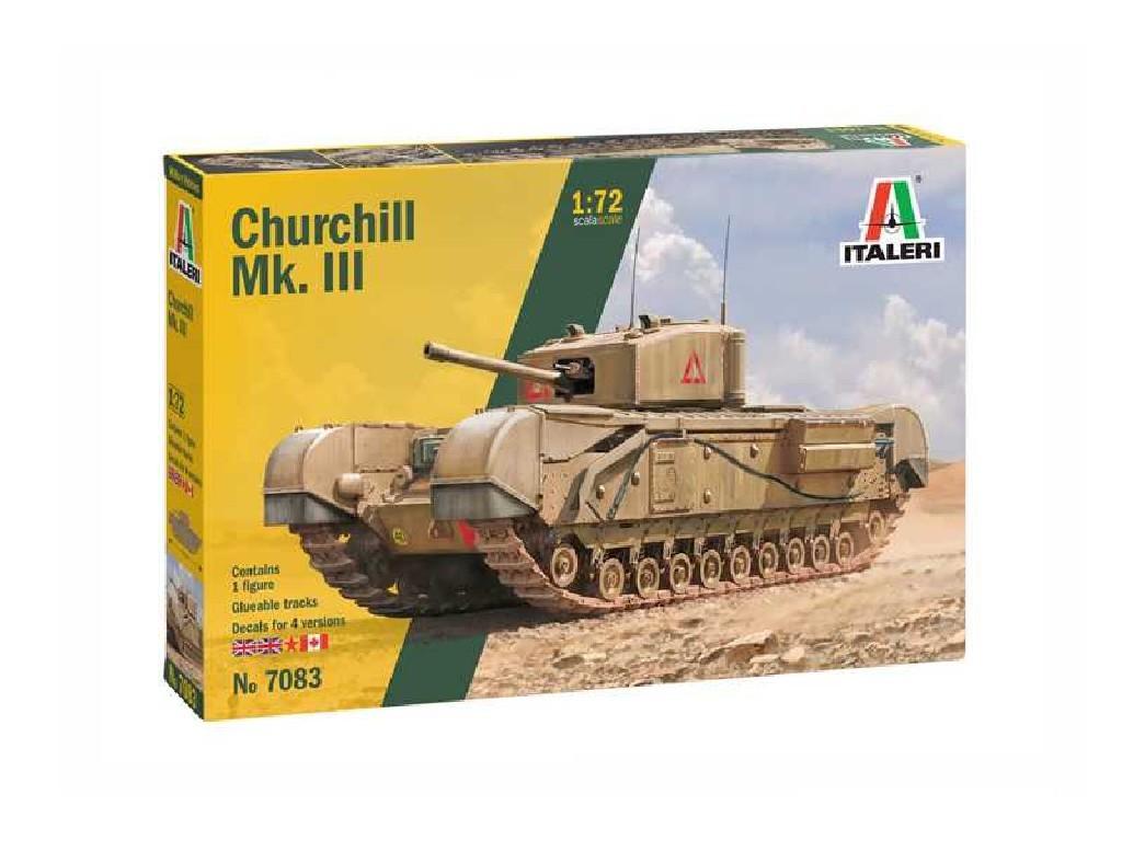 Model Kit tank 7083 - Churchill Mk. III (1:72)