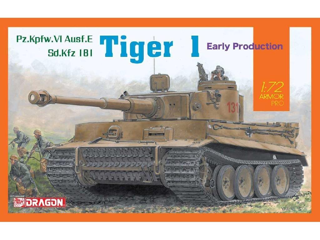1/72 Plastikový model - tank 7482 - SD,Kfz Tiger I Early Production
