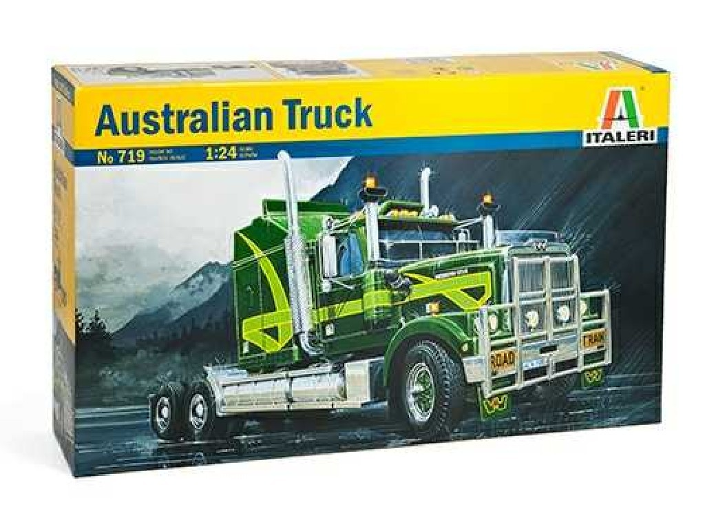 1/24 Plastikový model - truck 0719 - AUSTRALIAN TRUCK