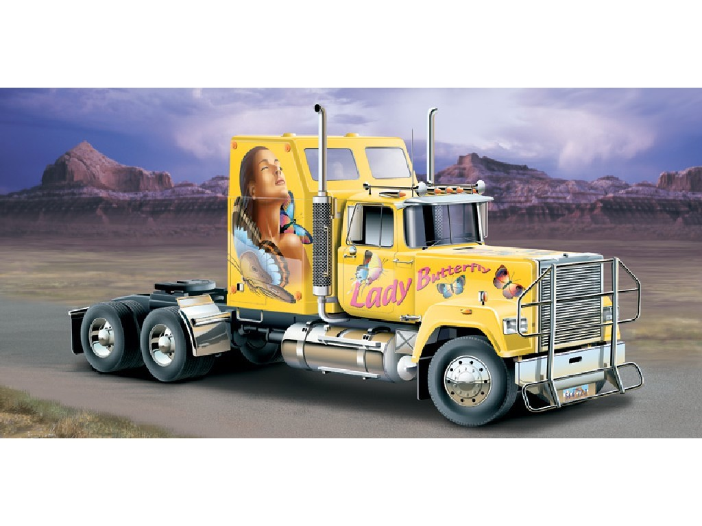 1/24 Plastikový model - truck 3820 - AMERICAN SUPERLINER