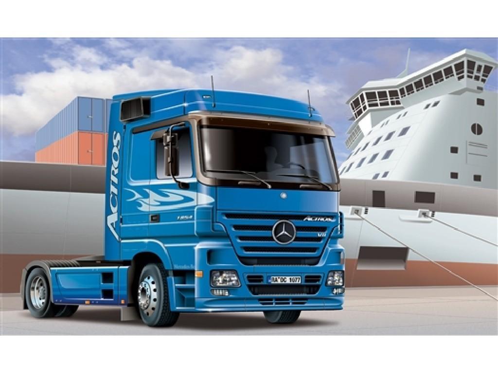 1/24 Plastikový model - truck 3824 - MERCEDES-BENZ ACTROS 1854 LS (V8)