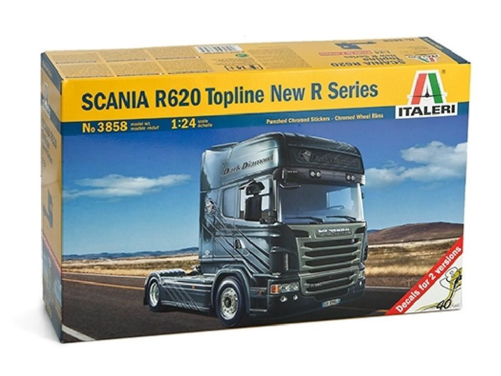 1/24 Plastikový model - truck 3858 - SCANIA R620 Topline New R Series