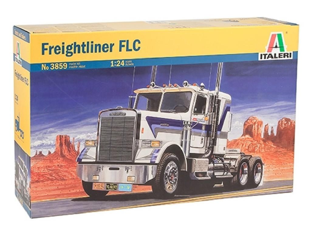 1/24 Plastikový model - truck 3859 - Freightliner FLC