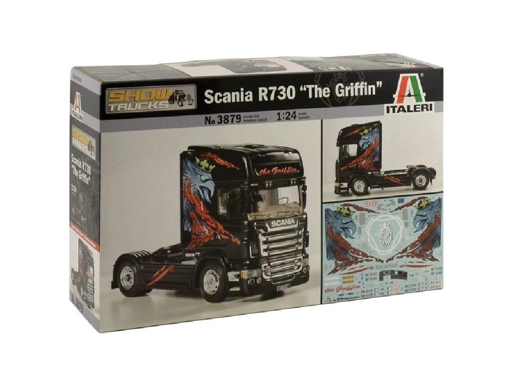 1/24 Plastikový model - truck 3879 - SCANIA R730 THE GRIFFIN