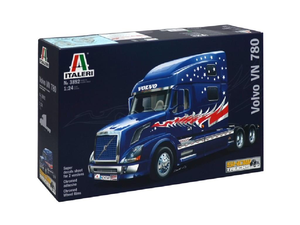 1/24 Plastikový model - truck 3892 - VOLVO VN 780