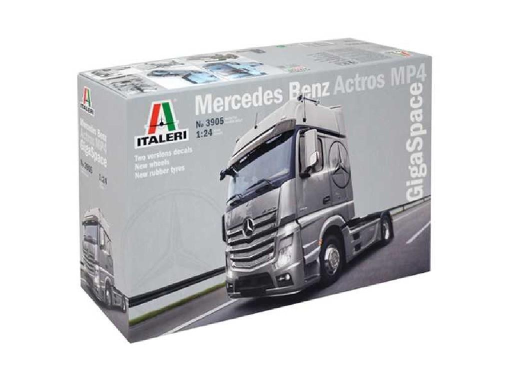 1/24 Plastikový model - truck 3905 - Mercedes Benz Actros MP4 Gigaspace
