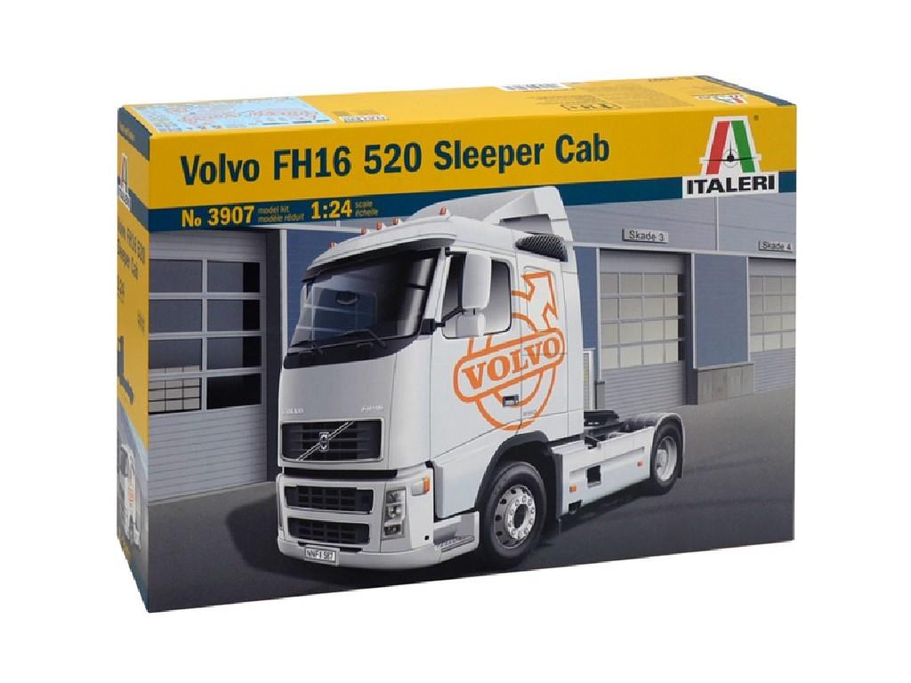 1/24 Plastikový model - truck 3907 - VOLVO FH16 520 SLEEPER CAB