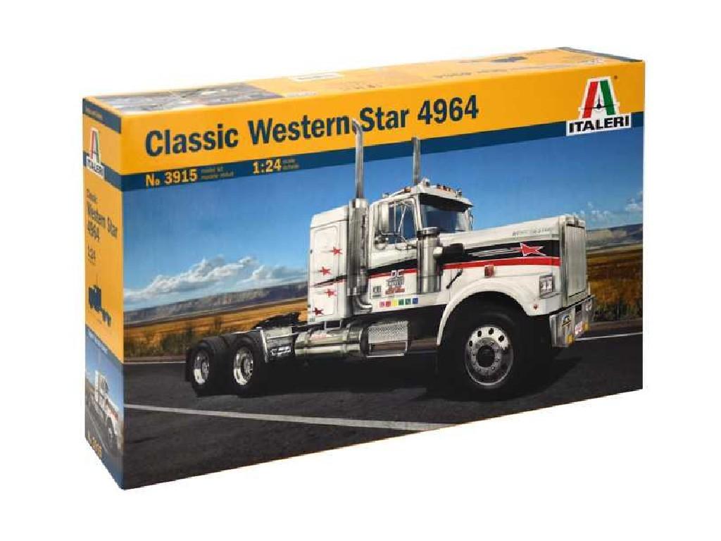 1/24 Plastikový model - truck 3915 - CLASSIC WESTERN STAR