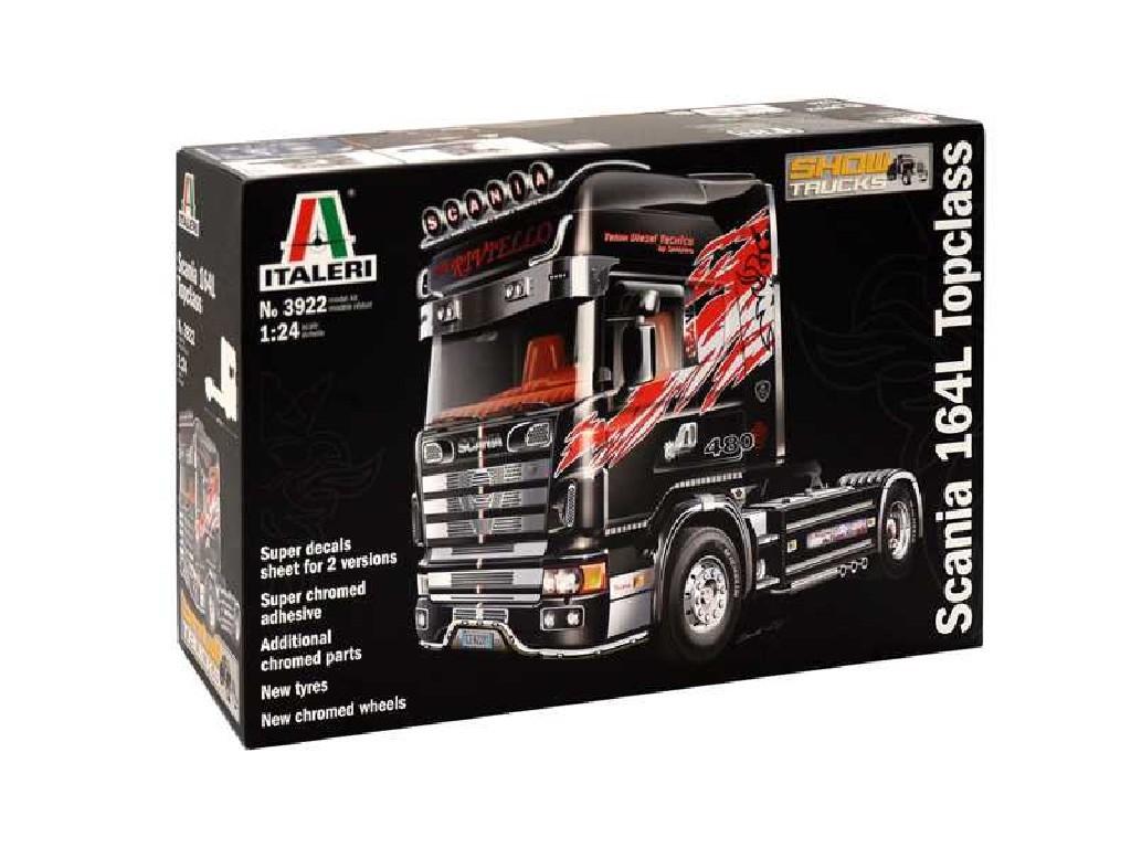 1/24 Plastikový model - truck 3922 - SCANIA 164 L TOPCLASS