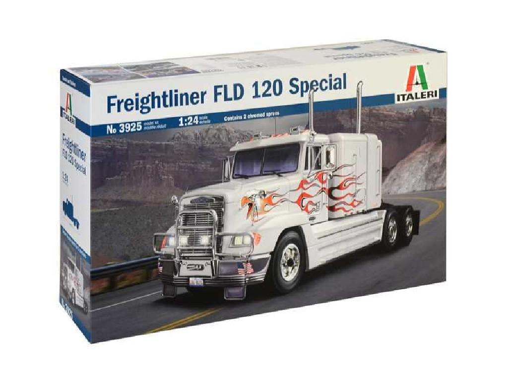 1/24 Plastikový model - truck 3925 - FREIGHTLINER FLD 120 SPECIAL