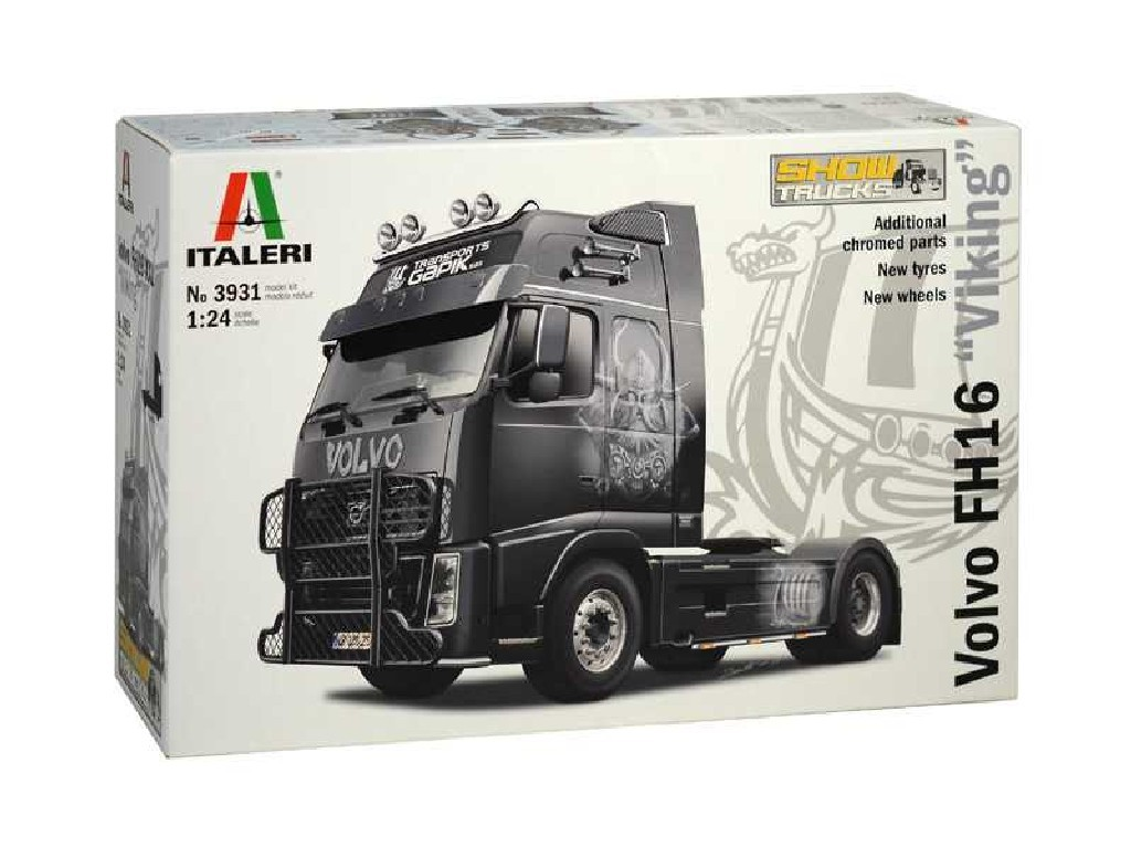 1/24 Plastikový model - truck 3931 - VOLVO FH16 XXL VIKING