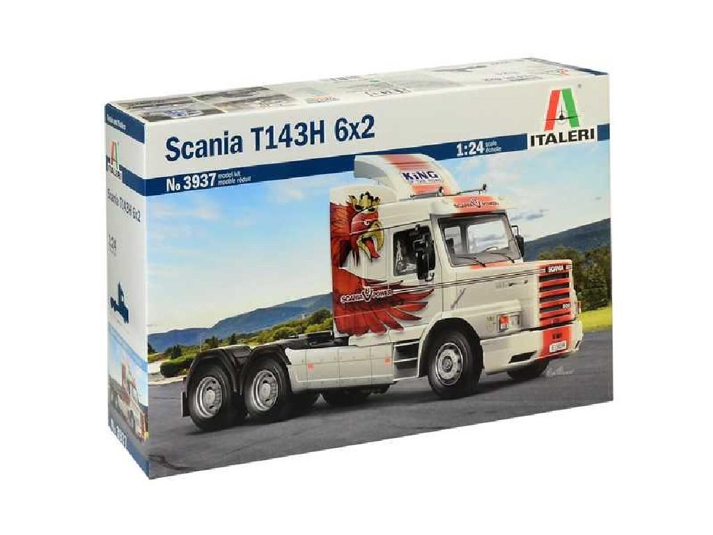 1/24 Plastikový model - truck 3937 - Scania T143H 6x2