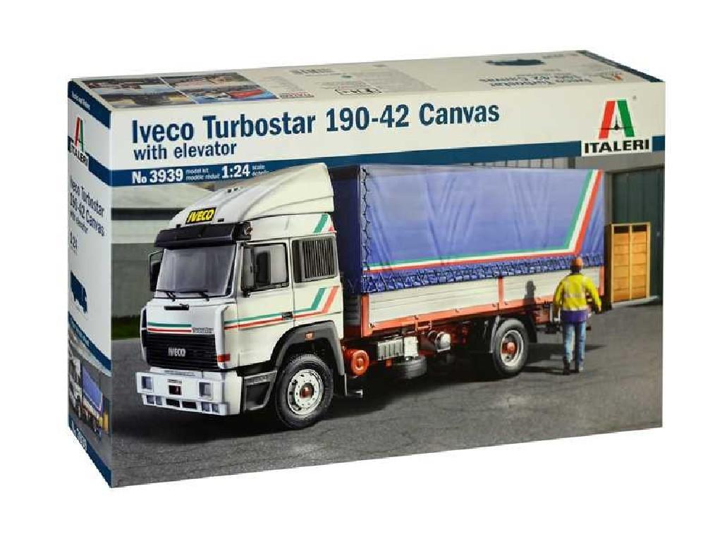 1/24 Plastikový model - truck 3939 - IVECO Turbostar 190-42 Canvas