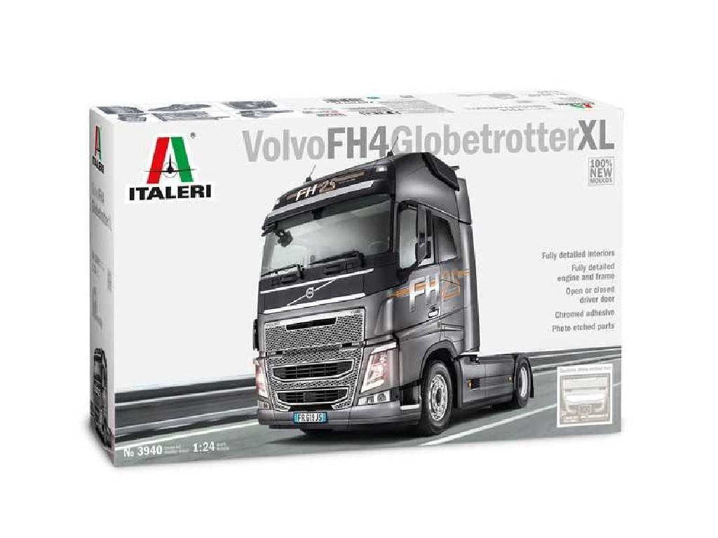 1/24 Plastikový model - truck 3940 - VOLVO FH4 GLOBETROTTER XL