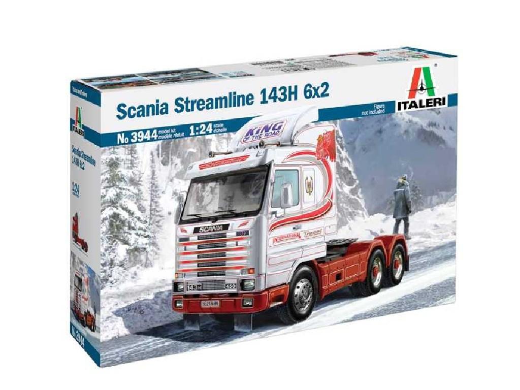 1/24 Plastikový model - truck 3944 - SCANIA Streamline 143H 6x2