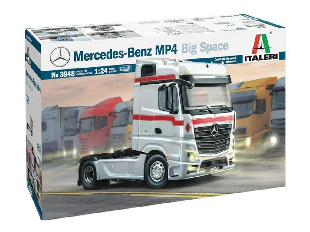 1/24 Plastikový model - truck 3948 - Mercedes-Benz MP4 Big Space