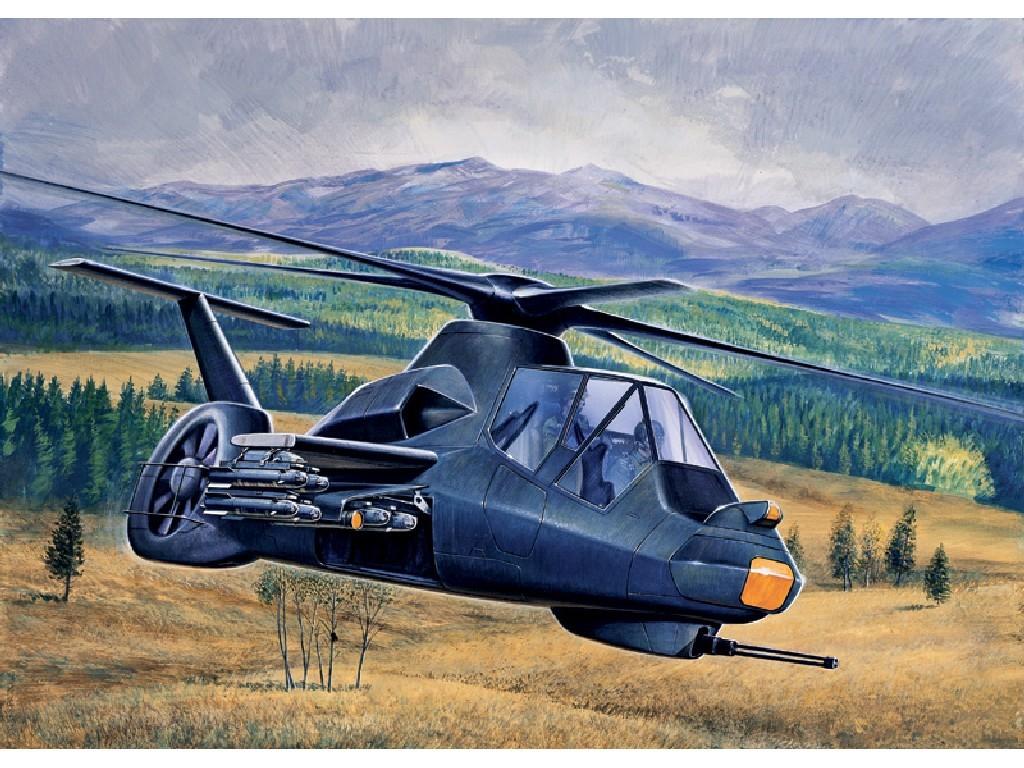 1/72 Plastikový model - vrtuľník 0058 - RAH-66 COMANCHE