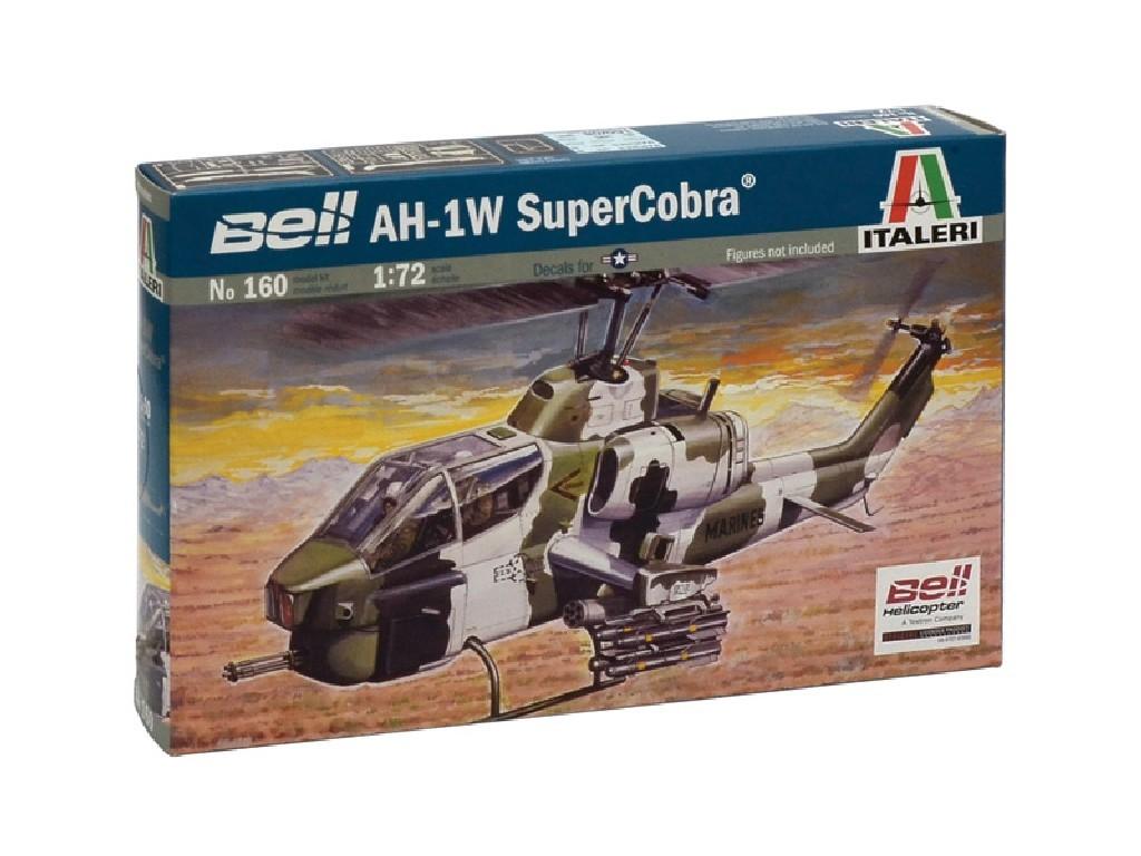 1/72 Plastikový model - vrtuľník 0160 - AH-1W SUPER COBRA