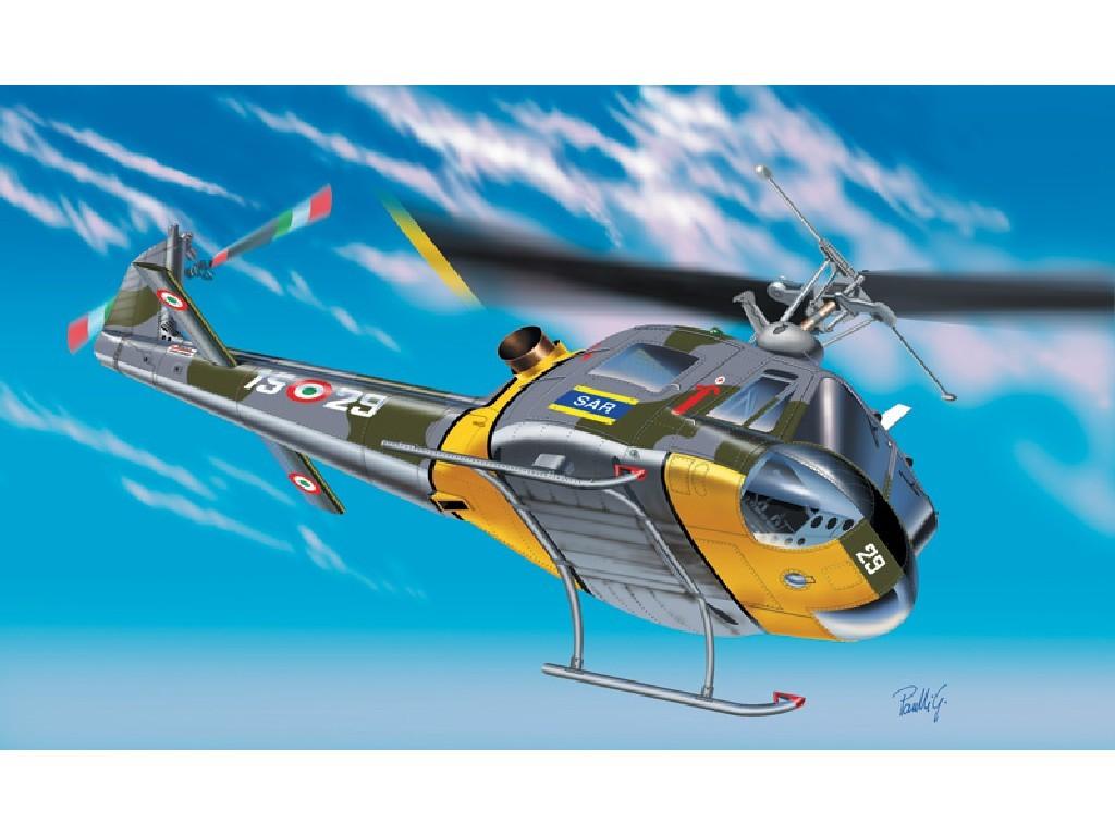 1/72 Plastikový model - vrtuľník 1201 - AB-204 B / UH-1 F