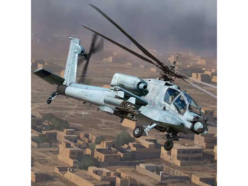 1/35 Model Kit vrtulník 12129 - AH-64A ANG and South Carolinaand