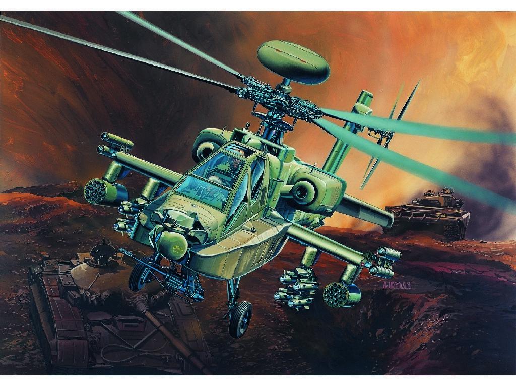 1/48 Plastikový model - vrtuľník 12268 - AH-64D LONGBOW