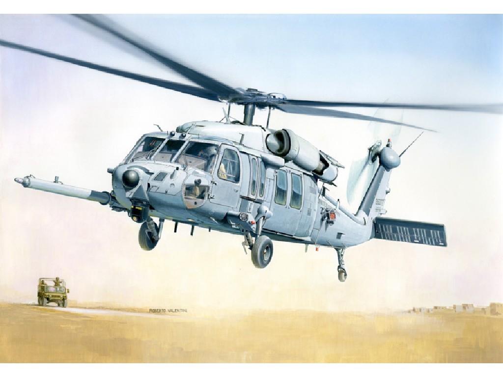 1/48 Plastikový model - vrtuľník 2666 - MH-60K BLACKHAWK SOA