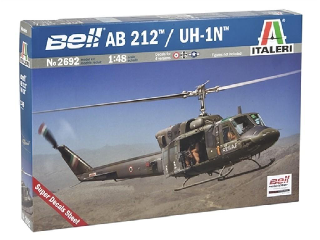 1/48 Plastikový model - vrtuľník 2692 - AB 212 /UH 1N