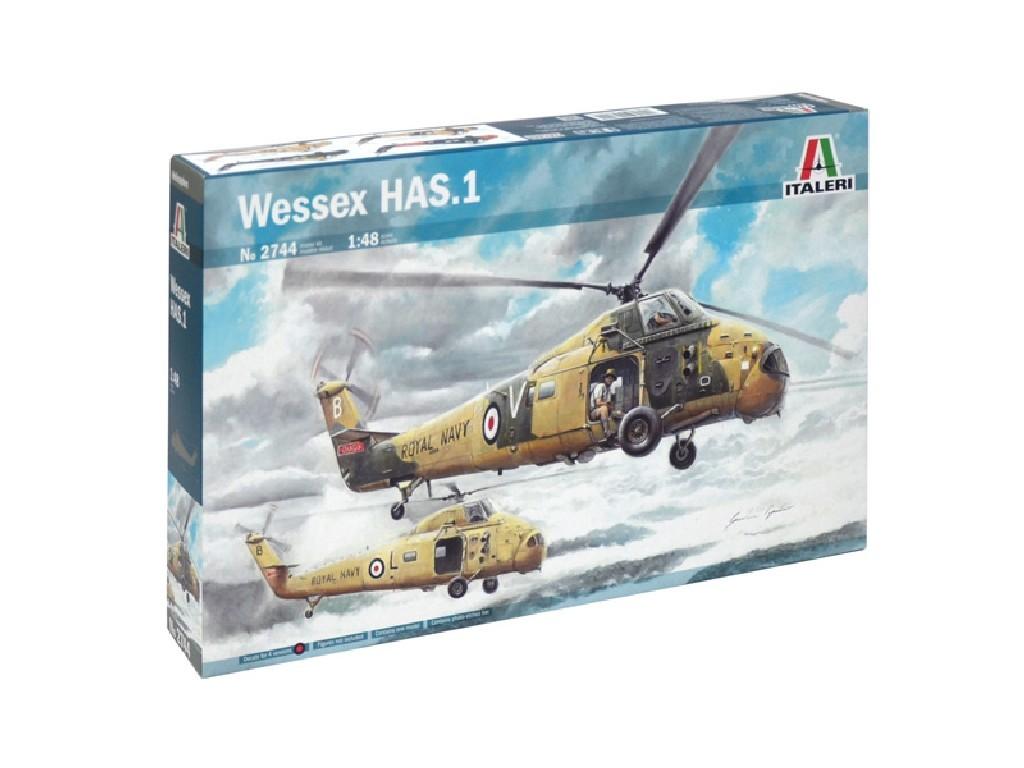 1/48 Plastikový model - vrtuľník 2744 - WESSEX HAS.1