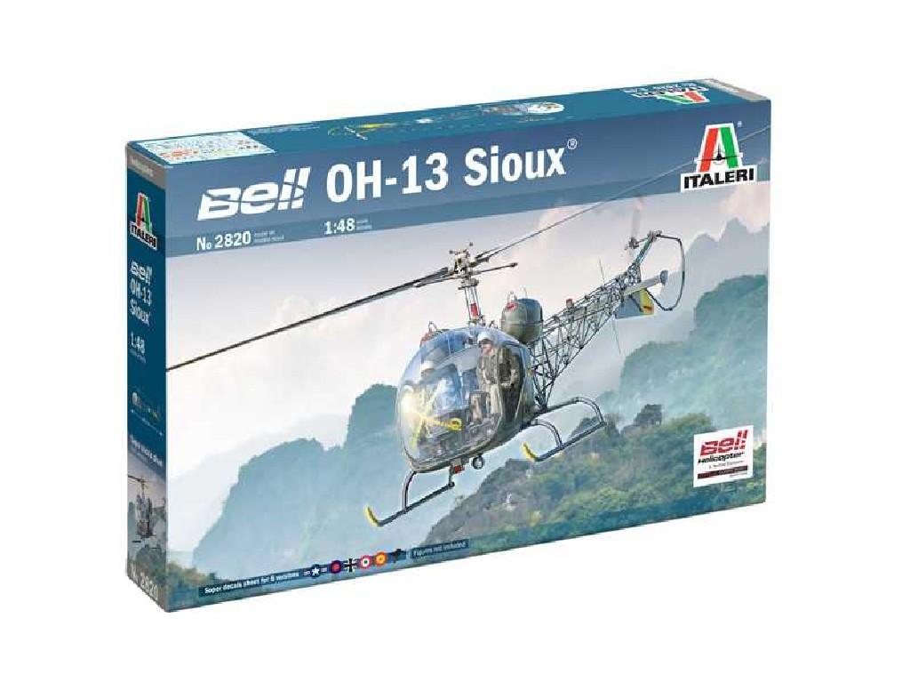 Italeri - 2820 - OH-13 Sioux Corean War 1:48