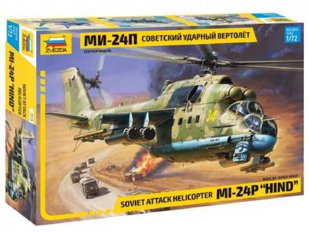 1/72 Plastikový model - vrtuľník 7315 - MIL-24P HIND