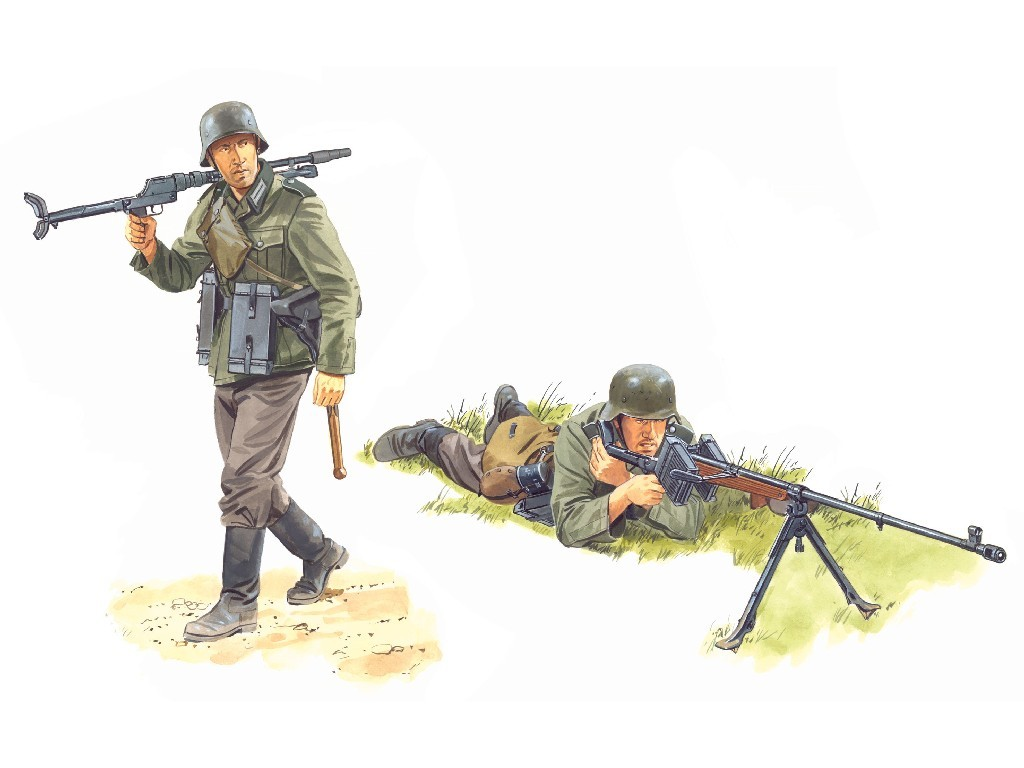 1/6 Plastikový model - zbraň 75014 - 1/6 GERMAN ANTI-TANK RIFLE