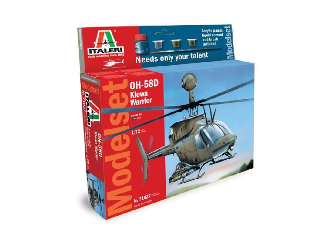 1/72 Model Set vrtulník 71027 - OH 58D Kiowa Warrior