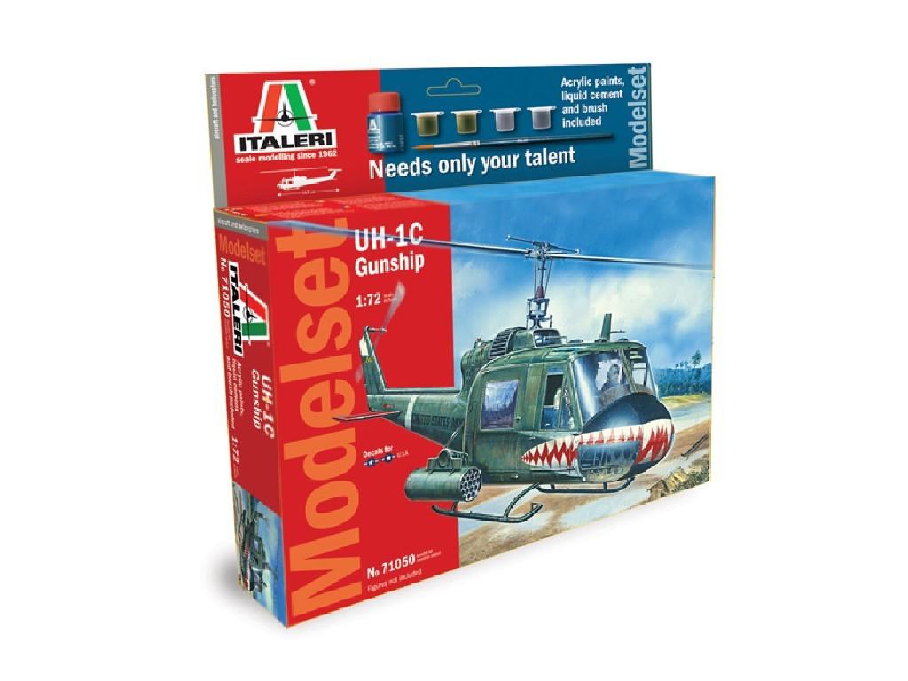 1/72 Model Set vrtulník 71050 - UH-1C GUNSHIP
