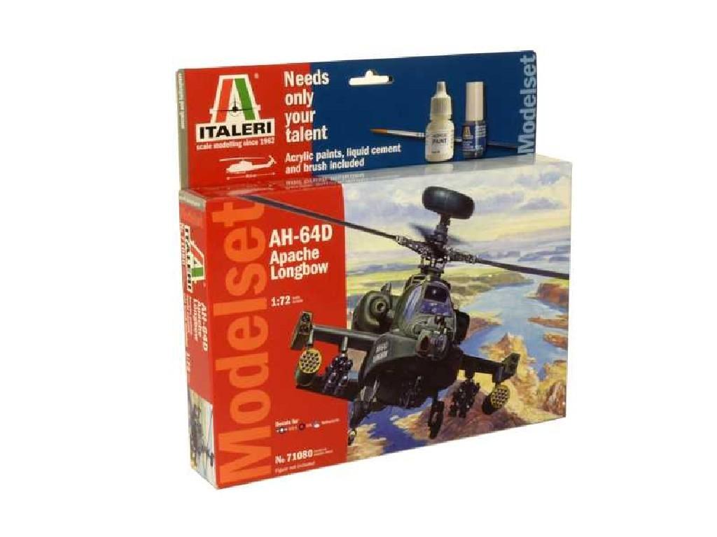 1/72 Model Set vrtulník 71080 - AH-64D Apache Longbow