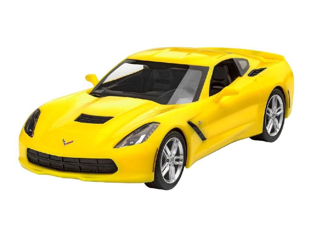 1/25 ModelSet EasyClick auto 67449 - 2014 Corvette Stingray