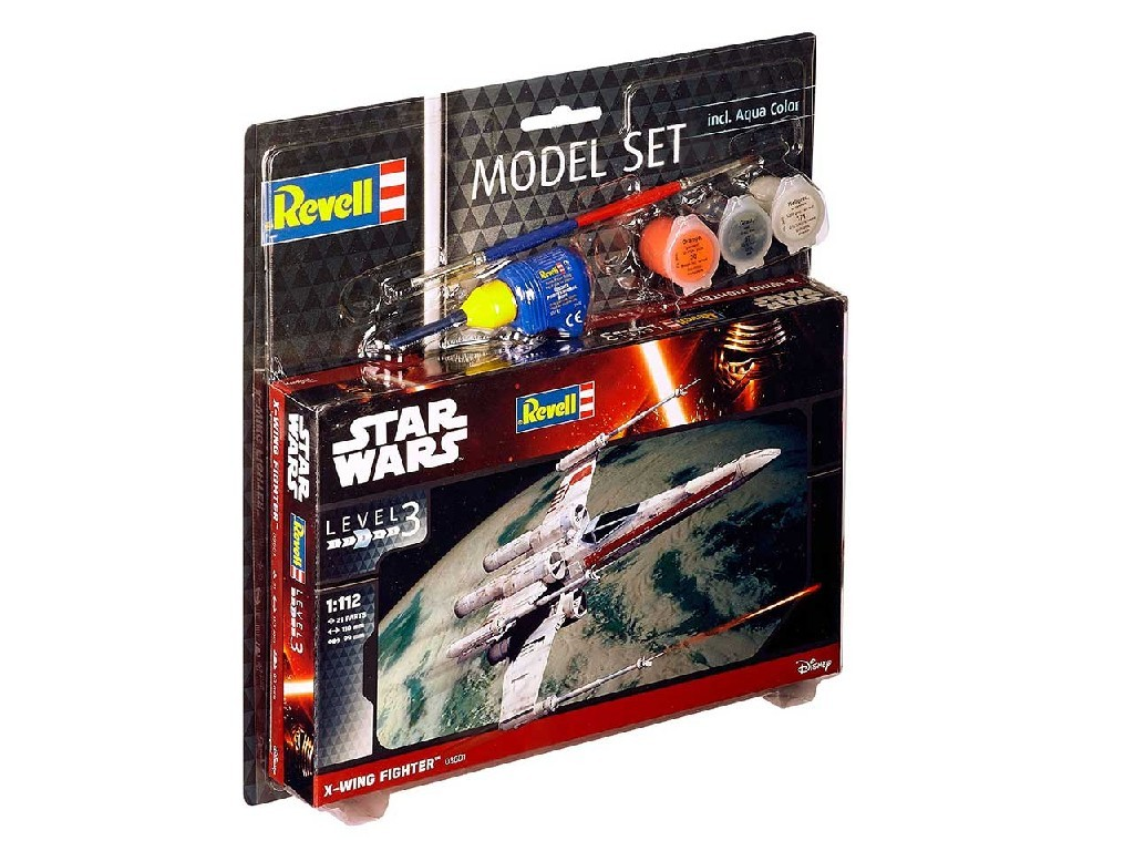 1/112 Plastikový model Set - Star Wars 63601 - X-wing Fighter