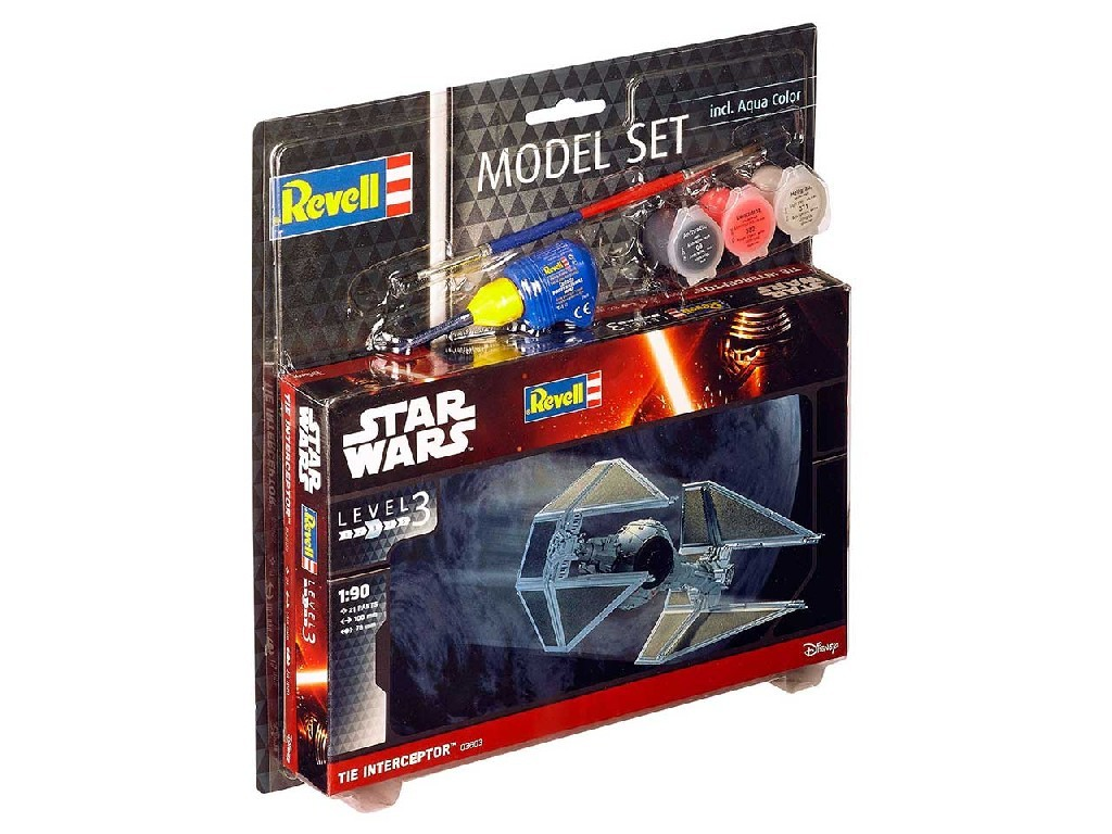 1/90 Plastikový model Set - Star Wars 63603 - TIE Interceptor