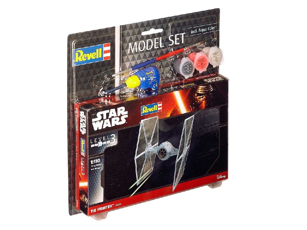 1/110 Plastikový model Set - SW 63605 - TIE Fighter