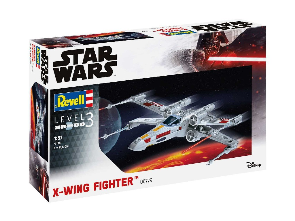1/57 ModelSet SW 66779 - X-wing Fighter